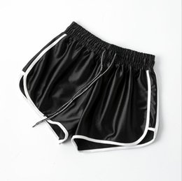 sexy black women booty UK - 2020 New LN645433 Fashion Summer Casual Shorts Woman Stretch High Waist Booty Shorts Female Black White Loose Beach Sexy Short