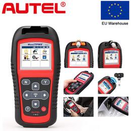 Tpms diagnosTic service Tools online shopping - AUTEL MaxiTPMS TS501 Tire Pressure Tool TPMS Sensor Diagnostic Tool TPMS Service Auto Scan OBD2 Scanner For Cars Diagnostic