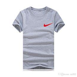 t shirt crocodile 2019 - S-6XL Plus-size T Shirt Fashion Brand Men Women Short Sleeve T Shirt Summer Crocodile Embroidery Mens Tees High Quality
