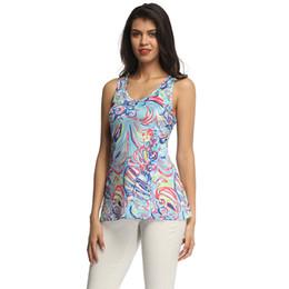 $enCountryForm.capitalKeyWord UK - summer colorful rainbow women tank top Lilly pulitzer tank top sleeveless v-neck stripe print lady T shirts