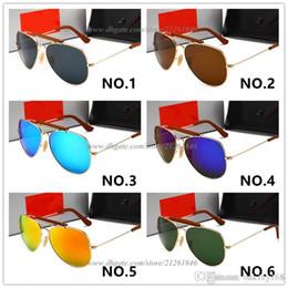 $enCountryForm.capitalKeyWord Australia - Hot Sale Round Frame Brand Design Sunglasses Women Men UV Protection Glass Lens Sun Glasses Outdoors Driving Glasses