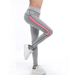 $enCountryForm.capitalKeyWord NZ - New Hot Women Lady Activewear Pink Legging Sport Summer Light Grey Pant Autumn High Waist Leggins 1208
