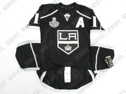 anze kopitar jersey cheap NZ - Cheap custom Anze Kopitar LOS ANGELES KINGS HOME 2012 STANLEY CUP JERSEY stitch add any number any name Mens Hockey Jersey XS-5XL