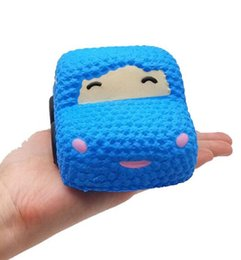 $enCountryForm.capitalKeyWord Australia - 2019 Decompression Squishies Small Blue Car Slow Rising Scented Squeeze Relieve Stress Toy squishy smooshy mushy toys for children