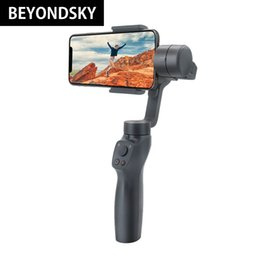 iphone gimbal Australia - BEYONDSKY Eyemind 2.0 Smartphone Handheld Gimbal Stabilizer For iPhone Xiaomi Samsung & Action Camera Anti-Shake Bluetooth APP