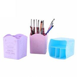 Office Desk Organiser Pen Makeup Storage Holder Stationery Container Case UK