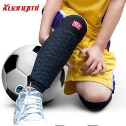 Elbow Supports Children Australia - Kuangmi 1 Piece Kids Knee Pad Knee Support Protector Children Calf Splint Sleeve Shin Guard Sports Basketball Football Cycling #146774
