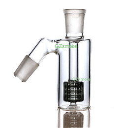 glass water pipe ash 2019 - 18mm Ash Catcher 45 degress Glass Bong Ashcatcher Water Pipes Ash Catchers mini bongs dab oil rig Ashcatchers smoking ac