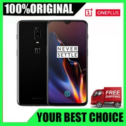 "brand camera NZ - Brand New Original Oneplus 6T Mobile Phone 6G RAM 128G ROM Snapdragon 845 Octa Core 6.41"" Dual Camera Screen One plus 6T Unlock Cellphone"