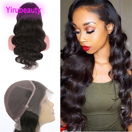 unprocessed hair wigs Australia - Brazilian Unprocessed Human Hair 13X4 Lace Front Wigs 8-30inch Body Wave Virgin Hair Natural Color Lace Wig Hair Products