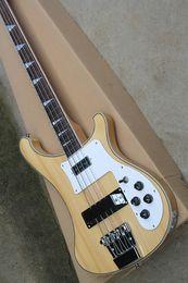 Bass Guitar Necks Bodies Australia - 4 double-string input electric bass guitar from Bass Electric Guitar with Jacaranda arm, neck to body, customized service