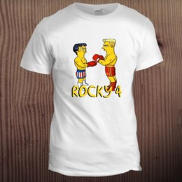 36ec51f4 Rocky Balboa Micks Gym Movie Hollywood UFC MMA Boxing Martial Arts T Shirt