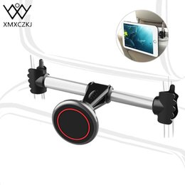 Stand Mount For Tablets Australia - Xmxczkj Back Seat Mount Magnet Stand For Tablet Accessories Auto Magnetic Support Mobile Phone Holder In Car J190507