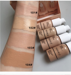 Hudamoji Marke 30ML Makeup Conclear Flüssige Foundation Fond de Teint Mit Pump Basis Kosmetik Fix Flouid Foundation DHL