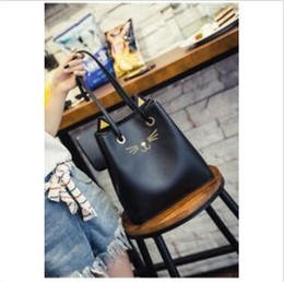 $enCountryForm.capitalKeyWord Australia - Kawaii Clothing Ropa Harajuku Bag Bolso Cat Gato Ears Black Negro Japan Korea