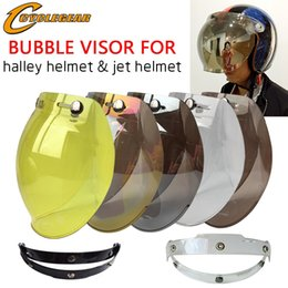 $enCountryForm.capitalKeyWord NZ - 5 Colors EVO Motorcycle Helmet Visor Shield Retro Hallar Helmet Mask Vintage Bubble Visor