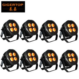 $enCountryForm.capitalKeyWord Australia - China Stage Lighting 8 Pack 4X18W RGBWY UV 6 IN 1 Flat Slim Battery LED Par Stage Lighting IP65 Waterproof Live Show DJ CE ROHS