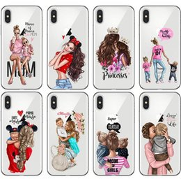 variety roses UK - For Iphone 11 Pro Xs Max Xr Hot Girl Variety Phone Case 6 7 8 X Plus Luxurious Transparent Soft Cell Phone Cases