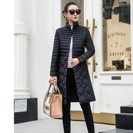 Women Winter Parka Australia - Try Everything Long Winter Coat Women Black Oversize Parka Women Winter 2018 Autumn Long Jackets For Ladies Coats 3XL