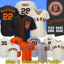 Crawford jerseys online shopping - San Francisco Custom Giants Posey Jersey Will Clark Madison Bumgarner Brandon Crawford Barry Bond Baseball Jerseys