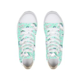 buy online 8a704 27ea2 Women s Spring Flats Unicorn Painting Flat Shoes Leisure School Brethable  Canvas Sneakers Teenager Girls Students Footwear