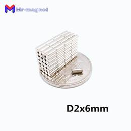 Neodymium Magnet Disc N35 Australia - 2019 imanes 2019 10pcs Small Round N35 D2*6 Environmental Production D2x6 Neodymium Magnets 2x6 mm Powerful Rare Earth magnetic materials