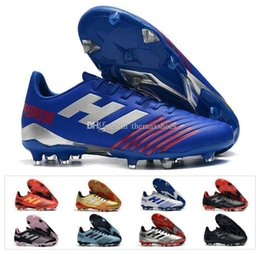 Chinese  2019 Hot Predator 19.4 Fg Tango 19 Cold Suit Fg Soccer Cleats Football Boots Mens Soccer Shoes Cheap Size 39-45 manufacturers