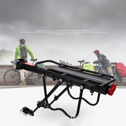 Ride Bikes Australia - Full Quick Release Bicycle Rack Mountain Bike Rear Seat Can Carry Man Tail Frame Bicycle Luggage Rack Riding Equipment Accessori #107122