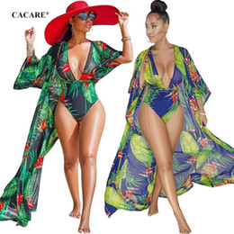 Wholesale swimwear cover ups resale online - Sexy Bikini Swimwear Set Women with Cover Up Pieces Suit Swimsuit Beach Set Swimming Suit F0366 Floral Print