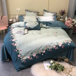 $enCountryForm.capitalKeyWord Australia - 4 5 6 7 Pcs Oriental Jacquard Silk Cotton Luxury King Size Queen Bedding Set Bedclothes Bed spread Duvet Cover Bed Flat Sheet