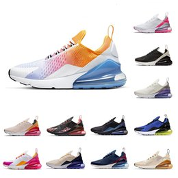 Chinese  2019 New Rainbow Men Women Running Shoes Black Gradient Barely Rose University Red Tiger Cactus Mens Breathable Trainers Sport Sneakers manufacturers