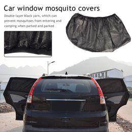 Sun Shade coverS online shopping - Universal Car Side Window Sunshade Car Mosquito Curtain Gauze Camping Mosquito Cover Sun Shade Drop Shipping