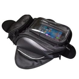 $enCountryForm.capitalKeyWord UK - Magnetic Motorcycle Tank Bag Waterproof Motorbike Saddle Bag Single Shoulder Backpack Luggage Phone Case For IPhone Xiaomi
