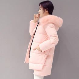 Long Waterproof Parka Australia - 2018 Fashion Winter Jacket Women Down Jackets and Coats Rabbit Fur Hat Female Warm Down Parka Windproof Waterproof Coat 50