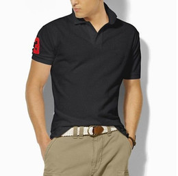 $enCountryForm.capitalKeyWord Australia - High Quality Classic Polo Shirt Men Solid Short Sleeve Summer Casual Polo Men Ralph T-shirts Mens Polos Shirts 8200 Poloshirt