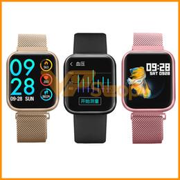$enCountryForm.capitalKeyWord Australia - P80 Smartwatch IP68 Waterproof Men Women Smart Bracelet Heart Rate Blood Pressure Bluetooth Smart Watch Wristband PK P68 P70 IWO8 Smartband
