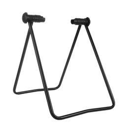 Discount u holder - Bike Wheel Hub Folding Repair Stand T Floor Holder Mountain Bike Quick-Release U Stop Frame Bicycle Repair Rack Folding