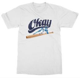 Diamond Base Australia - Okay T-Shirt Baseball Field Diamond Bat Team Home Run Stadium Pitcher Base GameFunny free shipping Unisex Casual Tshirt
