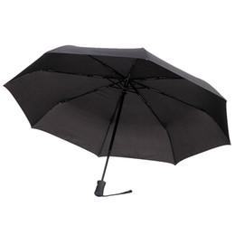 Umbrella men black online shopping - Umbrella Folding Umbrella Classic Automatic Black for Men and Women