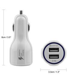 9v Car Australia - Dual USB Car Charger QC 3.0 Quick Charge 5V 9V 12V Fast Charging Adapter For Smartphones