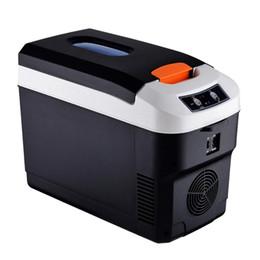 Vente en gros 12V 45W 10L Réfrigérateur Accueil voiture Mini réfrigérateur dortoir double usage Rafraîchissez chaud Portable camping en plein air