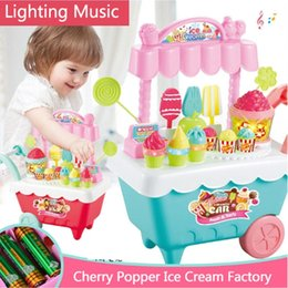 $enCountryForm.capitalKeyWord Australia - New Fashion Creative Children Role Play Music Light Toy Popcorn Ice Cream Trolley Set New Fashion Creative Ice Cream Trolley Toy