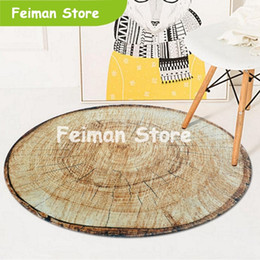 $enCountryForm.capitalKeyWord Australia - 3D Wood Tree Annual Ring Round Area Rugs and Carpets Living Room Bedroom Non-Slip Floor Mat Kids Room Computer Chair Sofa