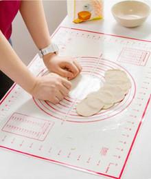 $enCountryForm.capitalKeyWord Australia - Hot Silicone Baking Mats Sheet Dough Rolling Baking Mat Pastry Clay Pad Sheet Liner Bakeware Accessories Kitchen Gadgets