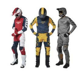 $enCountryForm.capitalKeyWord NZ - MX Stone three colours 180 Prizm Gear Set Motocross Motorcycle Off-Road Racing Jersey Pants Combo