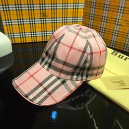 $enCountryForm.capitalKeyWord Australia - Fashionable Brand Designer Hats Caps Man Woman Baseball Cap 4 Season B Letter Caps Adjustable Rainbow Hats New Hot Top High Quality with Box