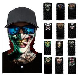 $enCountryForm.capitalKeyWord Australia - 3D Seamless Balaclava Magic Scarf Neck Face Mask Ghost Skull Skeleton Head Bandana Shield Headband Headwear Bandana Men Bicycle