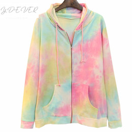 Cute Japanese Hoodies Australia - Fashionable Hooded Sweatshirt Womens  Japanese 3D Digital Zipper Hoodies With Cape c38039c59f