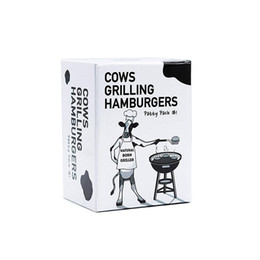 $enCountryForm.capitalKeyWord Australia - Cows Grilling Hamburgers Board Games Parent-child interaction Table Party Card Toys For Adults Playing Funny Education Gift