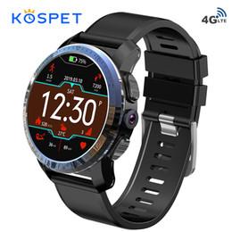 Опт Коспет двойная система Оптимус про Smartwatch телефона 4G Андроид 7.1 спортивных 8.0 MP Камера 3 ГБ оперативной памяти 32 ГБ ROM смарт-часы с GPS 800мач